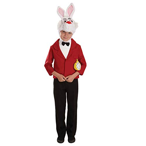 Kids Mr White Rabbit Costume Children'S Book Week Fancy Dress - Large]()