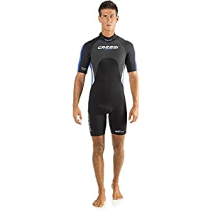 Cressi Tahiti, Men's Wetsuit, 2.5mm Ultra Span Neoprene, for Diving, Surfing, Snorkeling, Scuba – Designed in Italy…