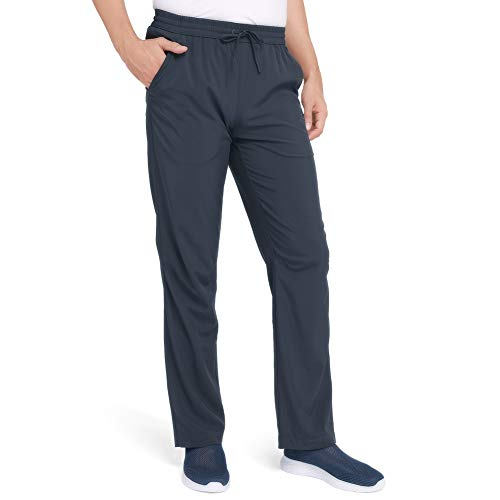 CAMEL Men's Quick-Dry Pants Travel Pants Ultralight Hiking Sweatpants Breathable Camping Sweatpants Summer Gray