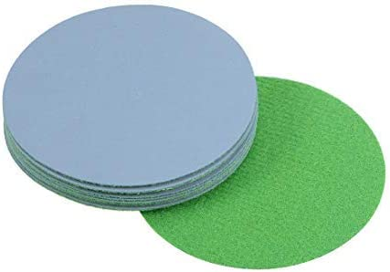 3-inch hook and loop sanding disc Wet/dry silicon carbide 3000 Grain 12 pieces