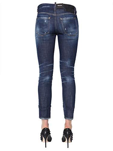 Dsquared2 S75lb0120s30342470 Algodon Azul Mujer Jeans 4rRx4