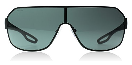 Prada Sport PS52QS DG01A1 Visor Sunglasses, Black, - Sunglasses Prada