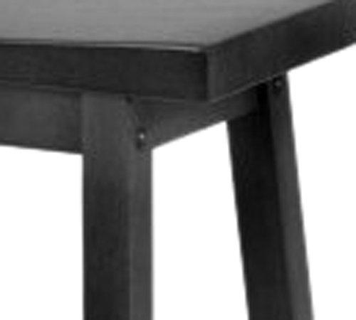 Winsome Wood 29 Inch Saddle Seat Bar Stool Black Buy