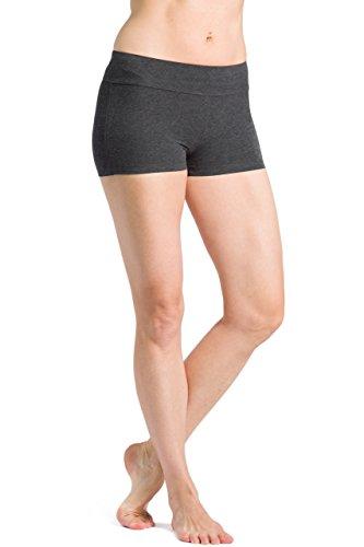 Bamboo Spandex Shorts - Fishers Finery Women's Ecofabric 2
