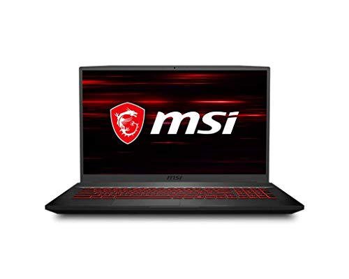 MSI GF75 Thin, Intel i7-10750H, 17.3″ FHD IPS-Level 144Hz Panel Laptop (8GB/512GB NVMe SSD/Windows 10 Home/Nvidia GTX1650Ti/Black/2.2Kg), 10SCSR-297IN
