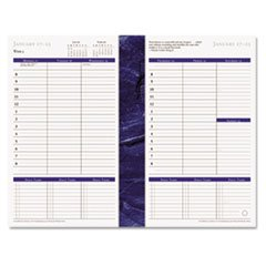 FranklinCovey - Monticello Dated Weekly/Monthly Planner Refill, 5 1/2 x 8 1/2, 2019