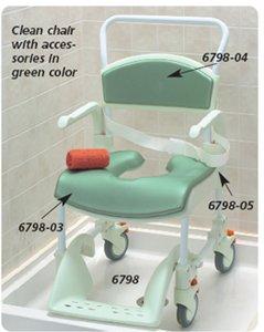 etac clean shower commode chair etac clean chair with 5 13cm