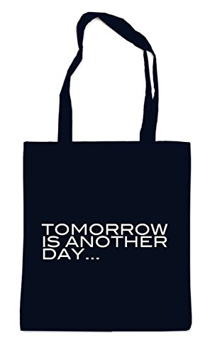Tomorrow Is Another Day Bag Black