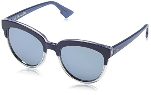 Christian Dior - DIOR SIGHT 1, Cat Eye, acetate, women, BLUE SHADED CRYSTAL AZURE/BLUE MIRROR(REN/T7), 54/20/145