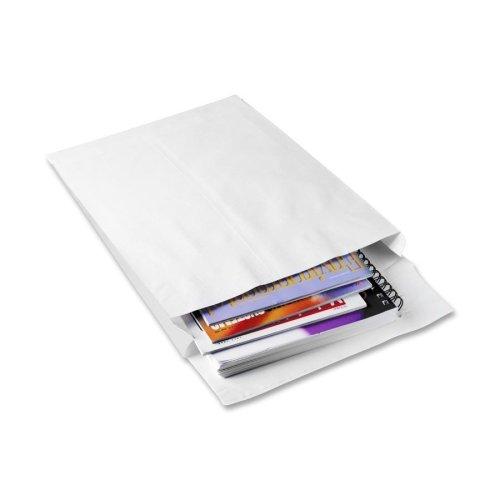 White Envelopes End Plain Expansion (Wholesale CASE of 2 - Quality Park Ship-Lite Plain Open End Envelopes-Expansion Envelope, Plain, 12