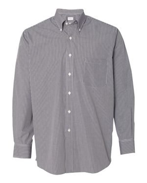Van Heusen Men's Regular Fit Gingham Button Down