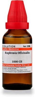 Willmar Schwabe Homeopathic Euphrasia Officinalis (1000 CH) (30 ML) by Exportmart