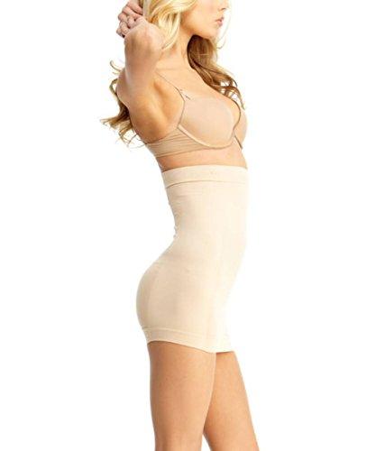 UPC 802025085822, SlimMe Entrepreneuse Control Half-Slip Shaper - Classy Shapewear MSM-112 Nude X Large