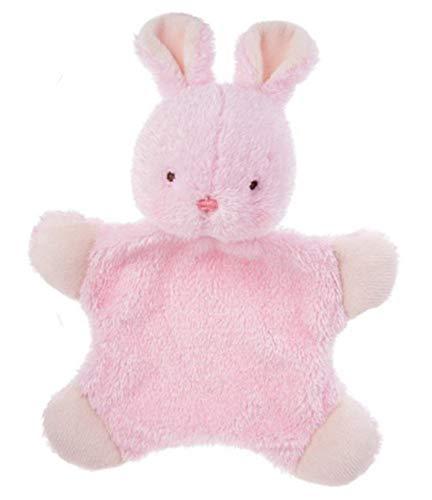 - Baby Ganz 11 Inch Lovey Wuzzies Flatsie Flat-A-Pat Plush Blankie (Bunny)