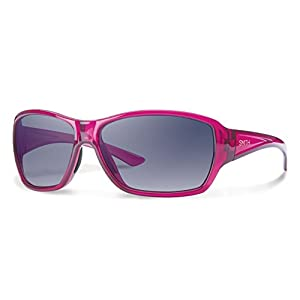 Smith Optics Women's Purist Sunglasses, Crystal Opal Frame, Gray Gradient Carbonic TLT Lenses
