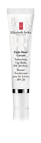 Elizabeth Arden Eight Hour Cream Nourishing Lip Balm Broad Spectrum Sunscreen SPF 20,  0.5 oz. 8 Hour Lip Protectant Elizabeth Arden