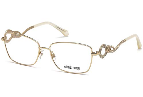 (Eyeglasses Roberto Cavalli RC 5003 Agliana 028 shiny rose gold)