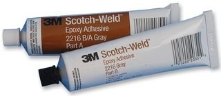 3M Scotch-Weld 2216 Epoxy Adhesive, 2 oz Tube Kit, Gray by 3M