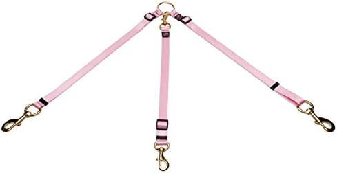 Cetacea Pet Truck Bed Tether, One Size, Baby Pink