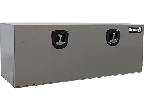 Buyers Products Polished Stainless Steel Underbody Truck Box w/ T-Handle Latch (18x18x48 Inch) ()
