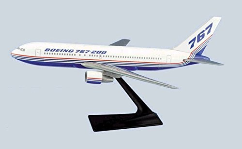 400 Boeing House (Flight Miniatures Boeing 767-400 House Colors 1981 Demo Livery 1:200 Scale Display Model Retired)