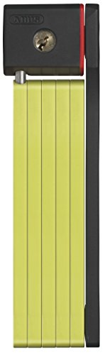 Abus Bordo 5700 Folding Lock, 80cm Length/5mm Plates, Lime