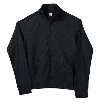 Bella Women's 6.5 oz. Stretch Jersey Cadet Jacket - Black 807 2XL