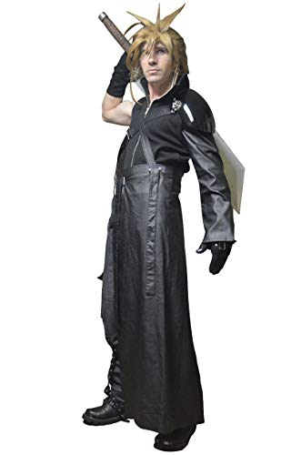 - DAZCOS Adult US Size Dark Cloud Strife Cosplay Costume with Shoulder Armor (Small)