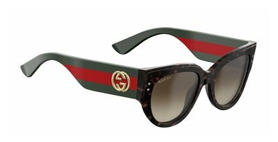 Sunglasses Gucci 3864/S 0U1D Havana Green Red / JD brown gradient lens (Sunglasses Gucci)