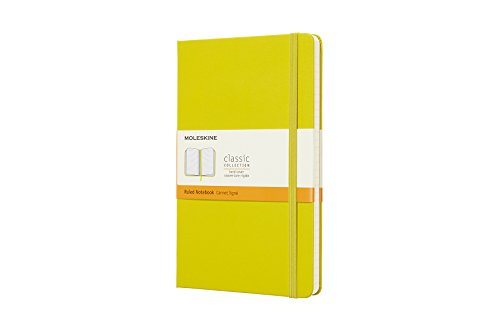 (Moleskine Classic Hard Cover Notebook, Ruled, Large (5