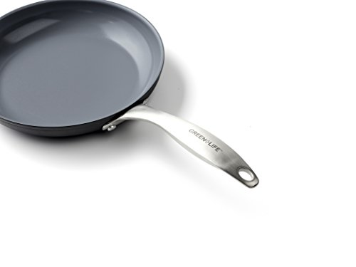 GreenLife CC001580-001 Cookware Set, 8'' and 10'', Dark Gray by GreenLife (Image #1)'