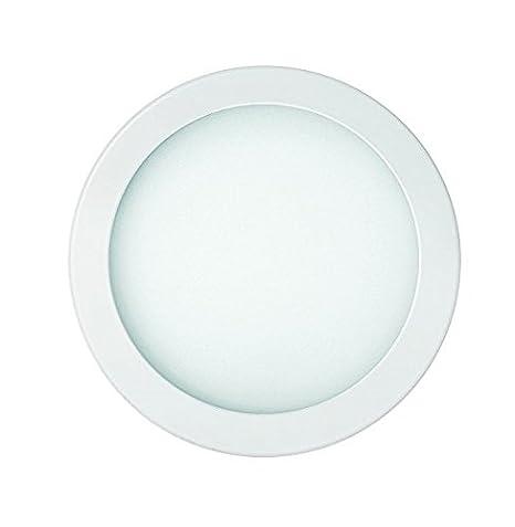 Secom 1700011883 - Downlight Led 18 W 240 V 3000 K - Nuva Eco encastrable: Amazon.es: Iluminación