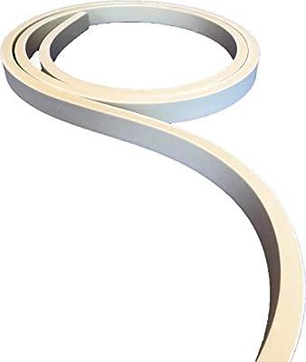 "Flex Trim Item # 1X2: 3/4"" Thick x 1-1/2"" Wide Flexible Flat Stock molding - 12' feet Long"