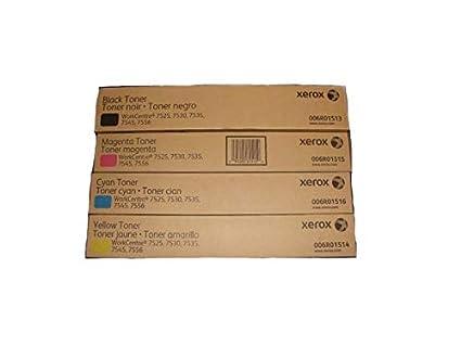 Xerox Xerox 7525/ 7530/ 7535/ 7545/ 7556 Toner Cartridge (Black,Cyan
