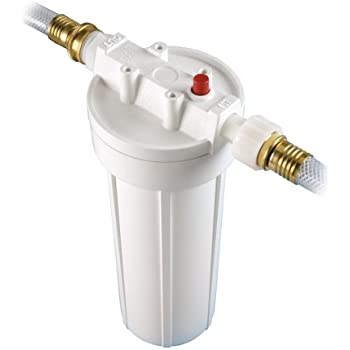 Culligan White Single Unit RVF-10 Level 1 Recreational Vehicle External Water Filter