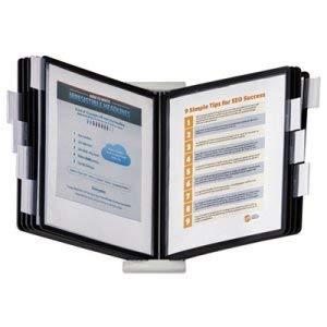 Expandable Desktop Reference System w/Black Borders, 10 Panels