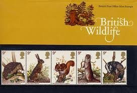 1977 BRITISH WILDLIFE STAMPS Presentation Pack. by Royal Mail