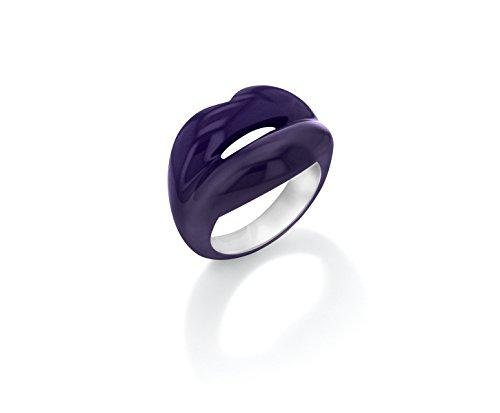 Solange Azagury-Partridge - Bague - Argent 925 - Hotlips Ring Purple 7