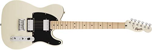 Squier by Fender Contemporary Telecaster Electric Guitar - HH - Maple Fingerboard - Pearl White