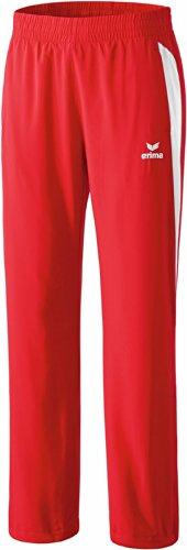 erima Anzug Premium One Präsentationshose - Prenda, color blanco / rojo, talla DE: 46
