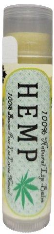 LifeGevity Handcrafted 100% Natural HEMP Lip Balm - Organic Hemp Seed Oil, Organic Shea Butter with Premium Organic Oils and Vitamine E.. LifeGevity Soap Company Inc.