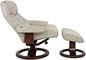 Fjords Leather Norwegian Ergonomic Scandinavian Lounge Reclining Chair 215 Large Muldal Recliner Furniture Nordic Line Genuine Cappuccino Leather ...