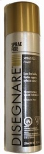 Indola Designare Sprae Fixe Aerosol Fixative Hairspray 10.5 oz. Lot of 6 by Kanaan