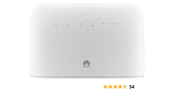 Huawei B715s-23c Blanco Router 4G ++ 3CA LTE LTE-A categoría 9 Gigabit WiFi AC 2 x SMA para Antena Externa