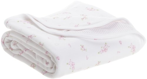 Magnificent Baby Girls Newborn Little Farm stripe 2-ply Blanket