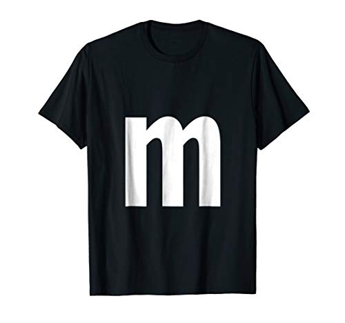 Alphabet Letter M (lower case m) Shirt