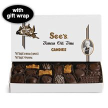 See's Candies 2 lb. Dark Chocolates