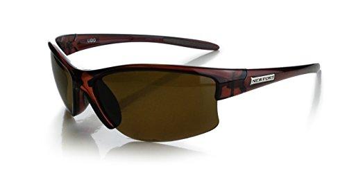 NEWPORT POLARIZED Sunglasses LIDO Shiny Brown / Polarized Amber - Sunglasses Newport
