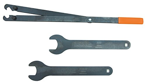 Lang Tools 3472 3-Piece Fan Clutch Wrench Set