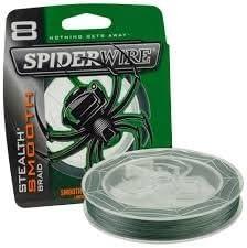 Spiderwire Stealth Smooth 8 Braid 28lb150m 12.5kg Green 1422069